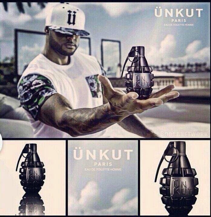 Booba lance sa gamme de parfum Unkut