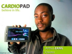 Inventor of Africa's first Medical Tablet Arthur Zang from Cameroun Wins Rolex Award