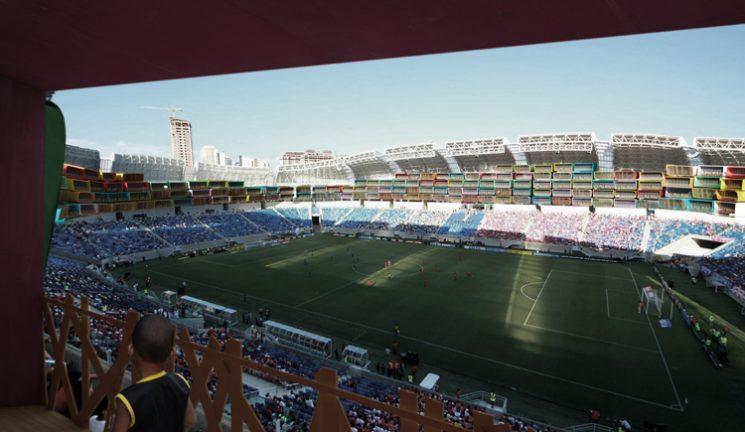 Deux architectes ont un plan génial pour les stades de la Coupe du Monde de football du Brésil