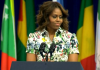 Michelle Obama Le sang de l'Afrique coule dans mes veines