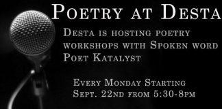 poetry worshop desta