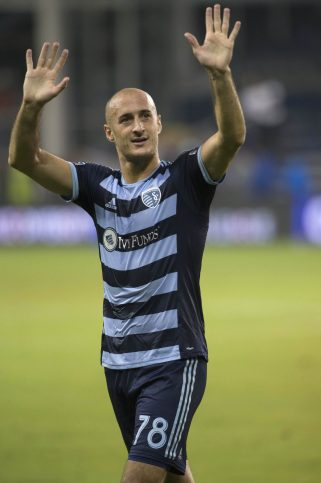 MLS: Champions League-Saprissa at Sporting KC