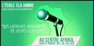 Langues africaines et leurs concepts - Montréal Sorties