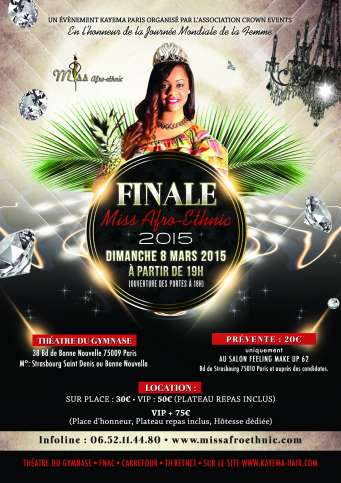 ELECTION MISS AFRO ETHNIC 2015