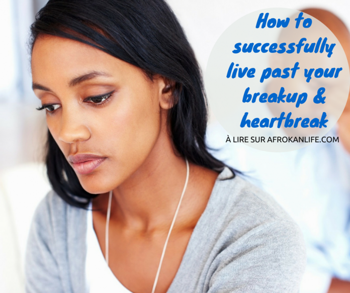 How to successfully live past your breakup heartbreak