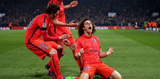 David Luiz Chelsea PSG Champions League