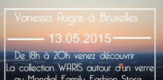 Soirée Vanessa Augris à Bruxelles