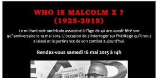 Conférence-Who is Malcolm x