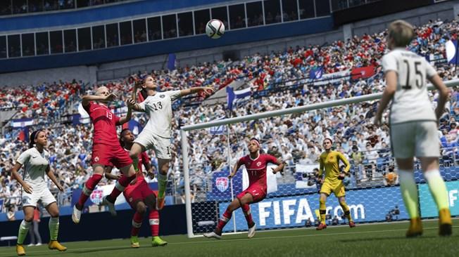 Douze équipes nationales féminines dans EA Sports FIFA 16