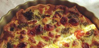 Recette minceur bio-vege-La Tarte feta et brocoli