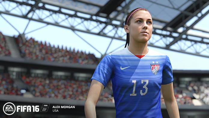 fifa16 - alex morgan