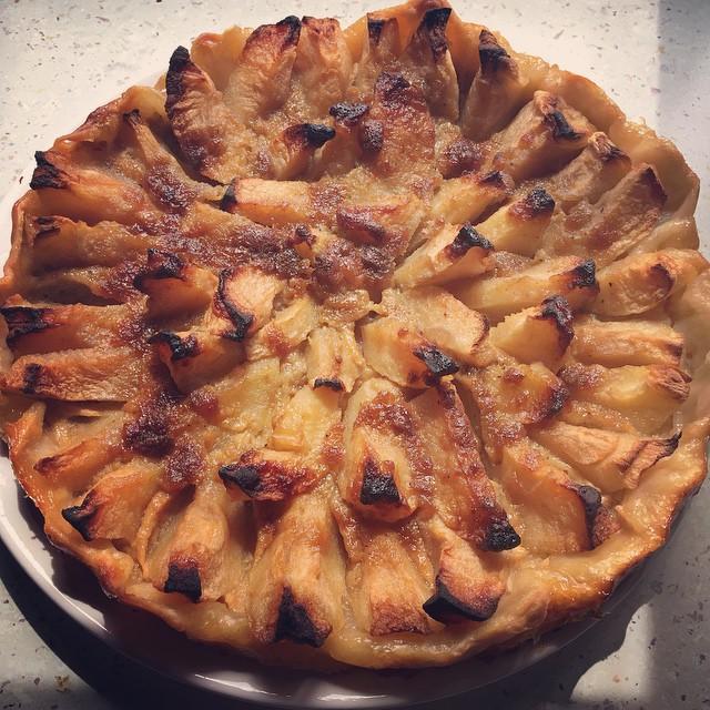recette tarte aux pommes facile