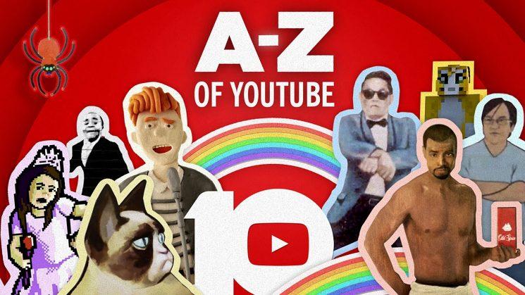 #HappyBirthdayYouTube - Pour ses 10 ans, Youtube a condensé ses meilleures vidéos de A à Z
