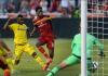 Les joueurs de Real Salt Lake marquent le coup franc de l'année en MLS
