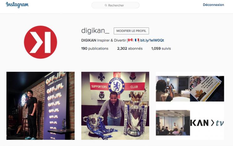 Instagram permet enfin de faire des recherches spécifiques sur ordinateur - digikan - 2