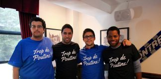TropDePoutine T-shirt Impact Montreal