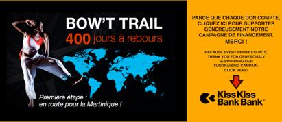 Lancement du projet Bow't Trail par Rhodnie Désir