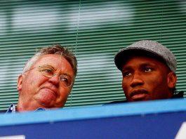 Chelsea Hiddink Drogba Didier