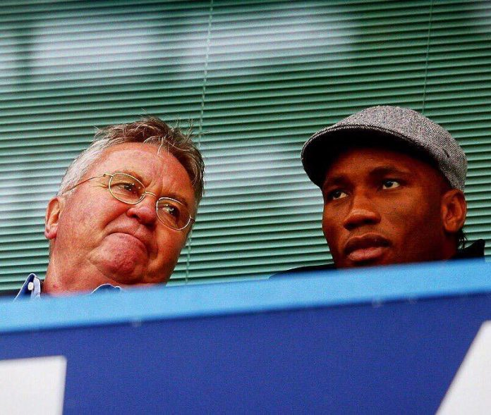 Chelsea Hiddink Drogba Didier