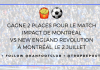 Gagne 2 places pour le MATCH IMPACT de MONTRÉAL vs NEW ENGLAND REVOLUTIONMontréal,