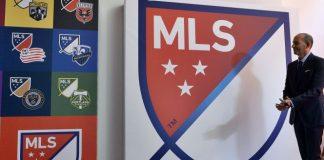 Don Garber MLS logo Major League