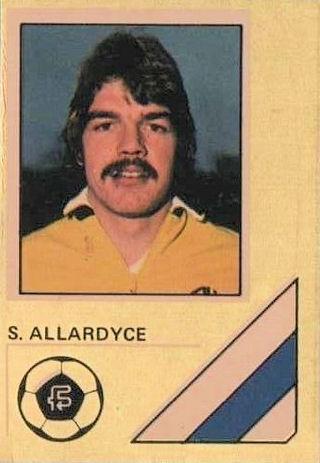 Sam Allardyce en Tampa Bay en 1983.