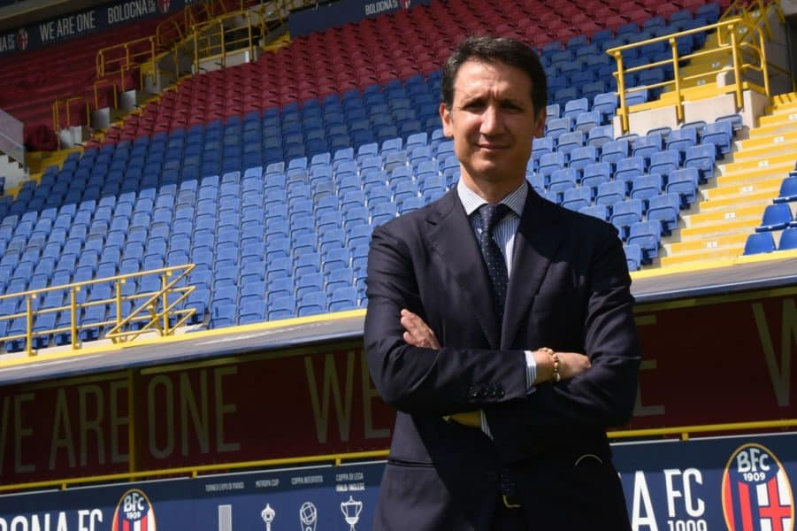 The two 48-year-olds from Rome Maurizio Micheli and Leonardo Mantovani have been appointed as head of scouting and international scout respectively for Bologna under sporting director Riccardo Bigon. Photo : www.bolognafc.it