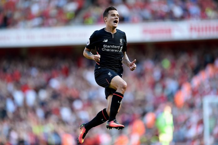 Coutinho Liverpool FC Barcelone