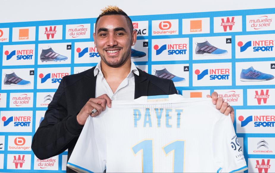 Maillot Domicile Olympique de Marseille Dimitri PAYET