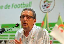 Georges Leekens demission Algerie