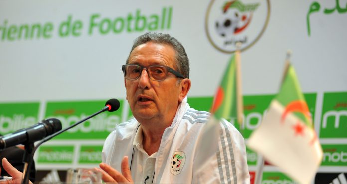 Georges Leekens demission Algerie