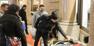 Italie solidarite sans-abri