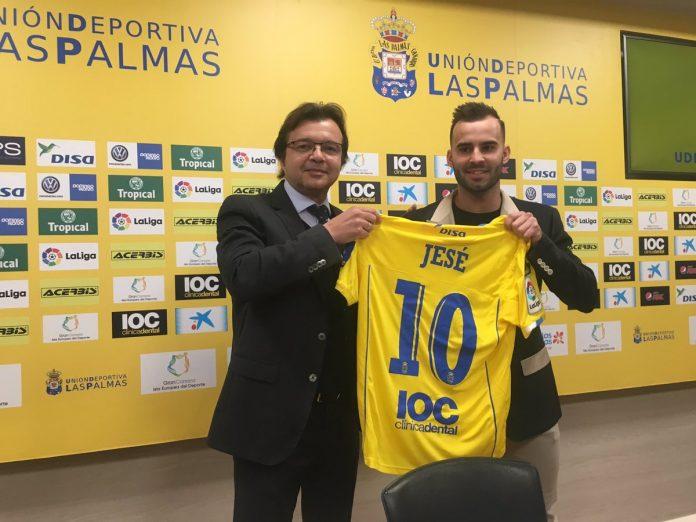 Jese Rodriguez Las Palmas