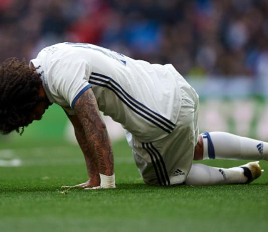 Real Madrid blessés Marcelo