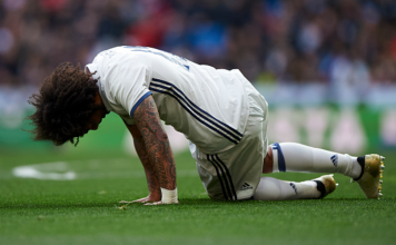Real Madrid blessés Marcelo
