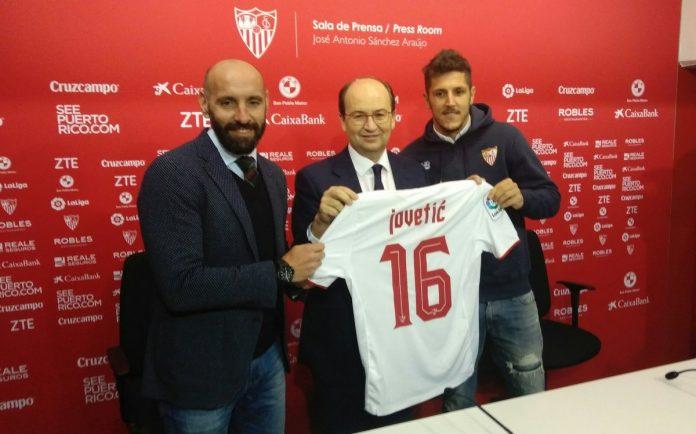 Stevan Jovetic Inter Milan Seville
