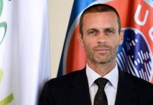 Aleksander Ceferin UEFA Trump