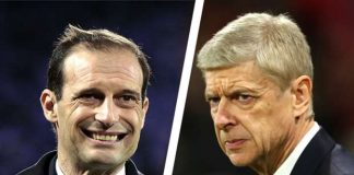 Allegri Wenger Arsenal