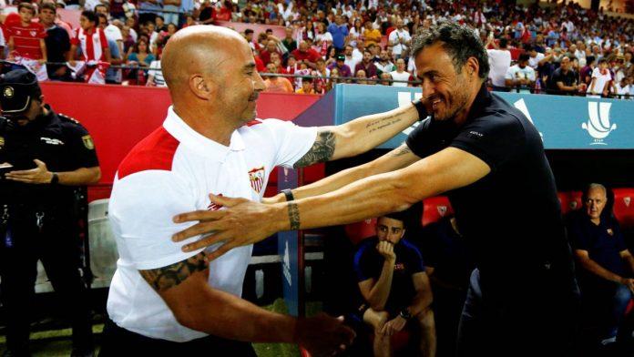 Luis Enrique Jorge Sampaoli Barça