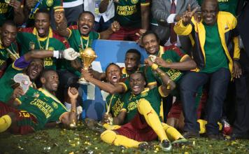 Oyongo Cameroun Champion Afrique