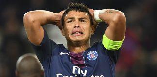 Thiago Silva forfait LdC