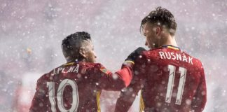 real salt lake neige