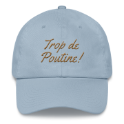 casquette-montreal-poutine_photo_Front_Light-Blue