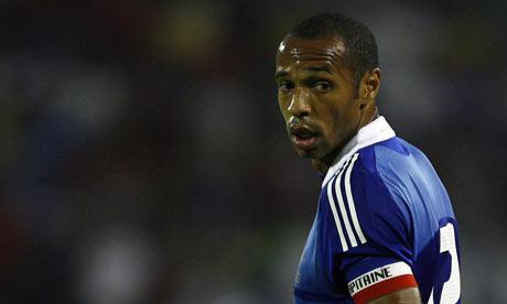 Thierry Henry veut-il jouer pour l'équipe de Guadeloupe ?