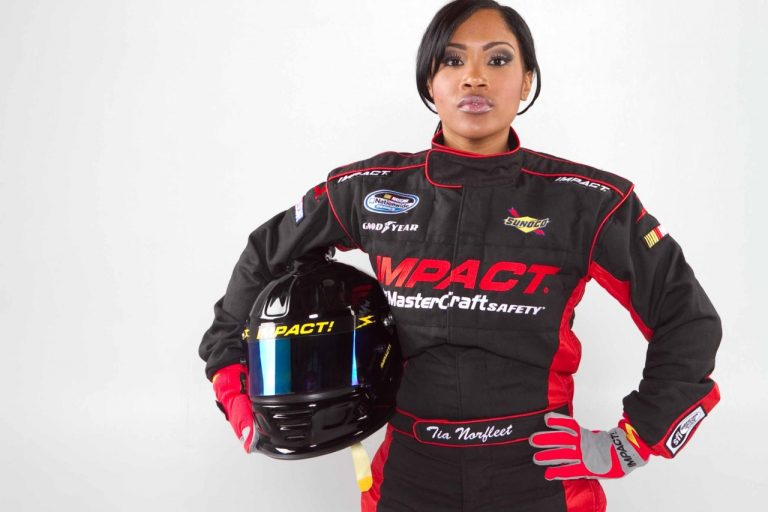 Tia Norfleet The First African-American Woman In NASCAR ?