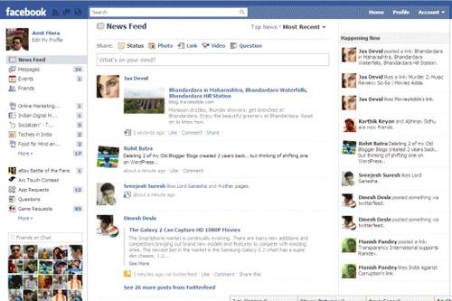 facebook happening now