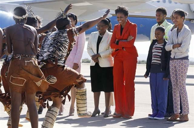 Michelle Obama in Botswana