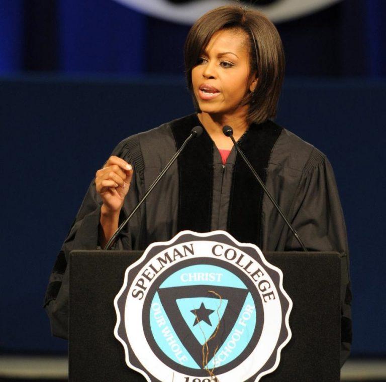 Black Speakers on campus – Michelle Obama