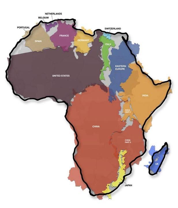 afrique taille