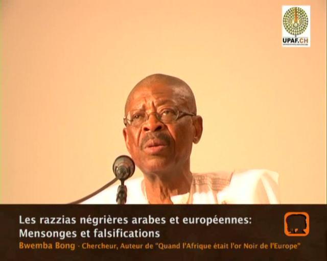 Conférence du Professeur Bwemba Bong sur l'Afrique et les Africains